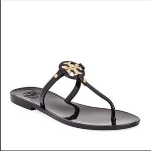 Tory Burch Mini Miller Jelly Flat Thong Sandals